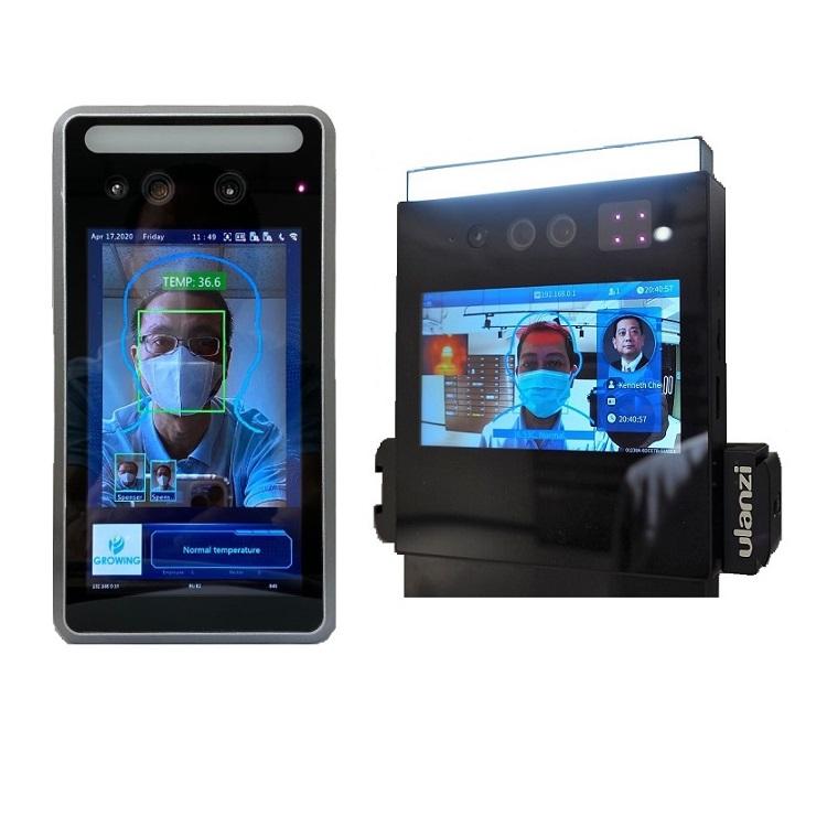 Reconocimiento facial y detección temperatura